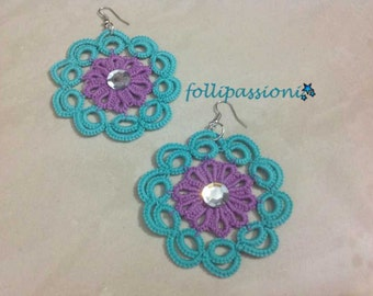 "Earrings ""color variation"""