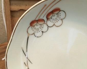 Japanese cherry blossom plate