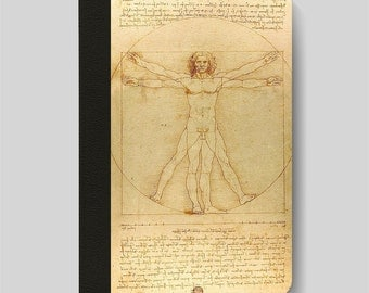 iPad Folio Case, iPad Air Case, iPad Air 2 Case, iPad 1 Case, iPad 2 Case, iPad 3 Case, The Vitruvian Man by Leonardo Da Vinci iPad Case