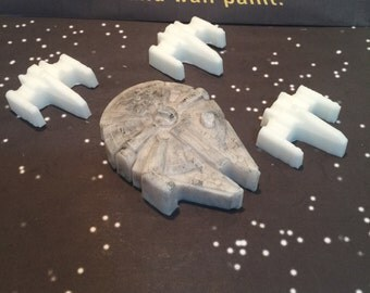 Millennium Falcon soap - Star Wars - Soap - Glycerin - Vegan