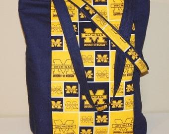 University of Michigan Tote Bag