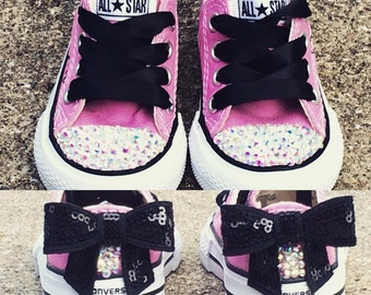Baby converse - Infant Converse - Bling Converse