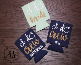 I Do Crew • I Do Crew Bridal Party • Bridal Party Gift • Bridal Party Accessory • Bride Maid of Honor Bridesmaid Bachelorette party