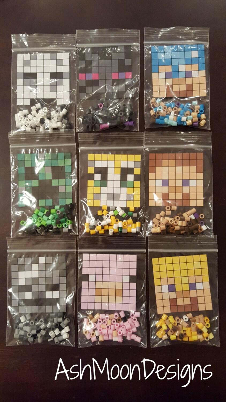 minecraft perler bead diy kits. Black Bedroom Furniture Sets. Home Design Ideas
