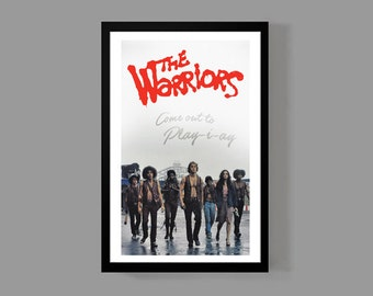 The Warriors Poster Print - Come out to play - Cult Classic Movie American Film NYC