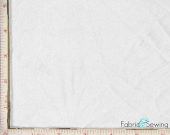 """White Stretch Knit Jersey Fabric 4 Way Stretch Rayon Spandex 8 Oz 58-60"""""""