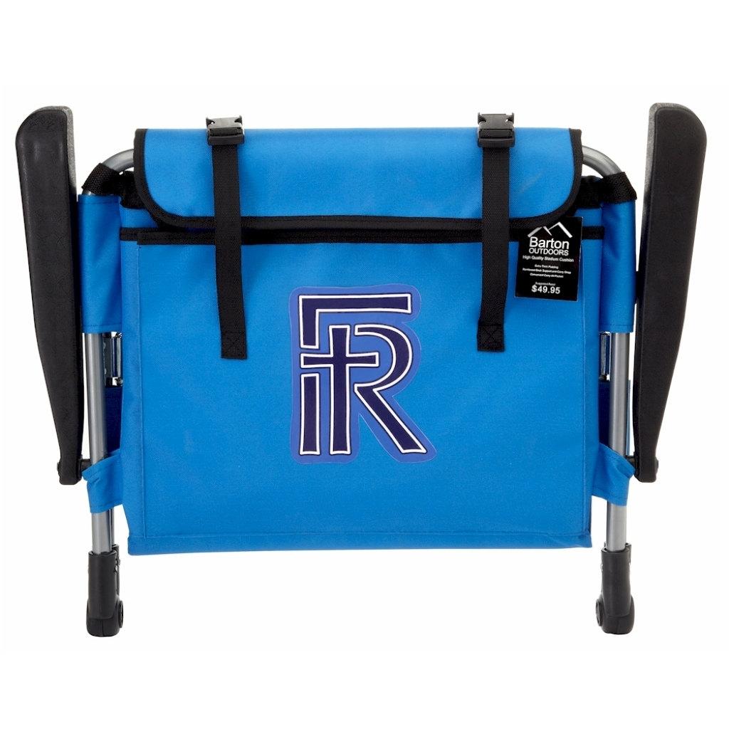 personalized stadium seats blue bleacher by personalkitten on etsy