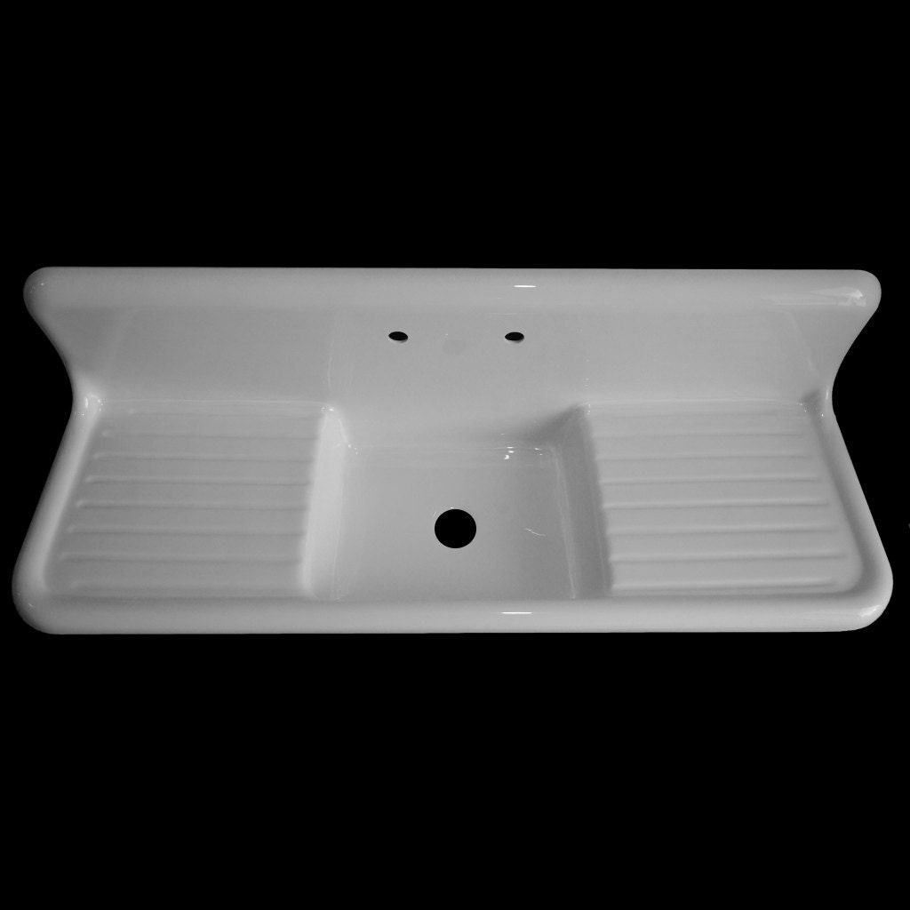 double kitchen sinks with drainboards 60 x 20 single bowl drainboard 8812