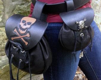High Seas Pirate Pouch Set