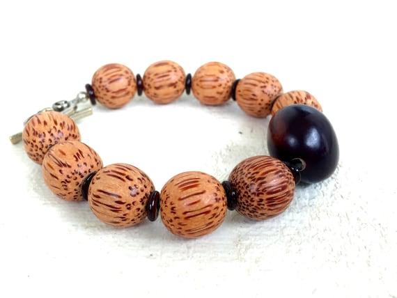Boho Bracelet, Hippie Bracelet, Yoga Jewelry, Bohemian Jewelry, Beaded Bracelet, Natural Jewelry, Beach Jewelry, Bohemian Bracelet