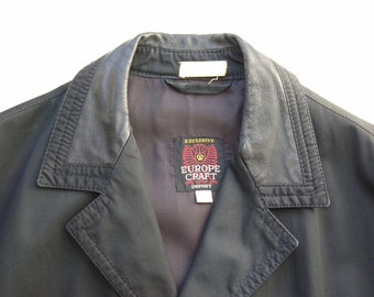 Vintage Euro Craft Short Trench circa the 60's