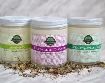 Eco Soy Essential Oil Candles