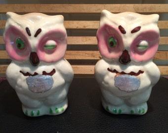 Shawnee Owl Salt and Pepper Shakers