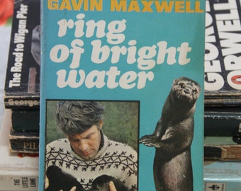 "A striking 1960s Pan paperback edition of Gavin Maxwell's  classic ""Ring of Bright water"""