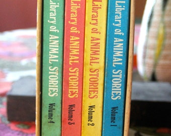 Classic Childrens Book Collection  My Golden Library Animal Stories from Australia & New Zealand. Set of 4 Volumes