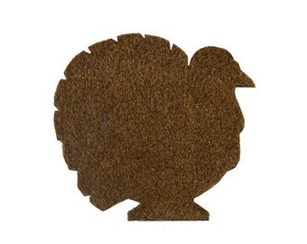 Thanksgiving Turkey Placemat Set
