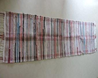 Hand Woven Rag Rug (16-17)