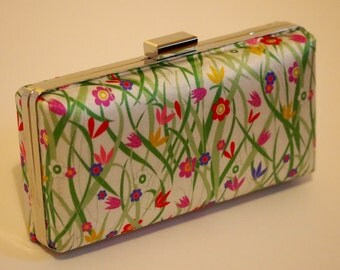 Liberty Silk - Clamshell Clutch Bag