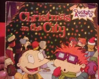 """VTG """"Rugrats Christmas in the City"""" book"""