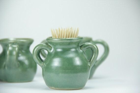 Free shiping q tip holder ceramic toothpick bathroom for Bathroom q tip holder