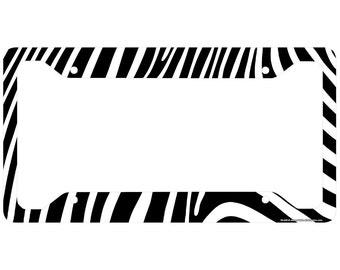 zebra license plate frame zebra car tag frame zebra license plate holder cute zebra print license plate frame 30 450