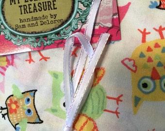 Fitted owl crib sheet,  Multicolor owl crib sheet