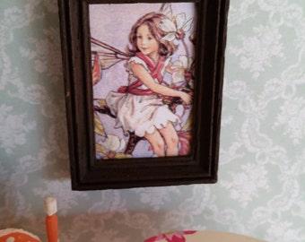 Special price! Child picture in miniature
