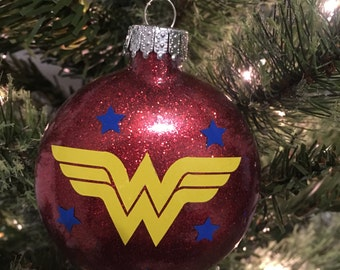 Wonder Woman Christmas Ornament