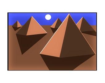 Mars Pyramids