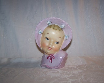 Baby Head Vase