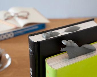 Hippo Bookmark -Designed bookmark -Humoristic  Bookmark