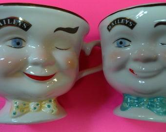 2 Baileys Teacups