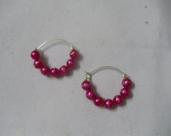 Ultra modern hoop earrings