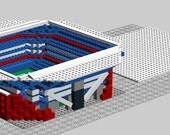 Arthur Ashe Stadium, Brick model