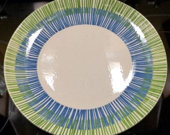 "Set of Four Mid Century Royal China Radiance M Cavalier Ironstone 10"" Dinner Plates"