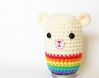 Rainbow Bear (or Cat or Bunny)
