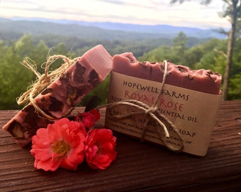 Royal Rose - Rose Clay with Rose EO and Shea Butter