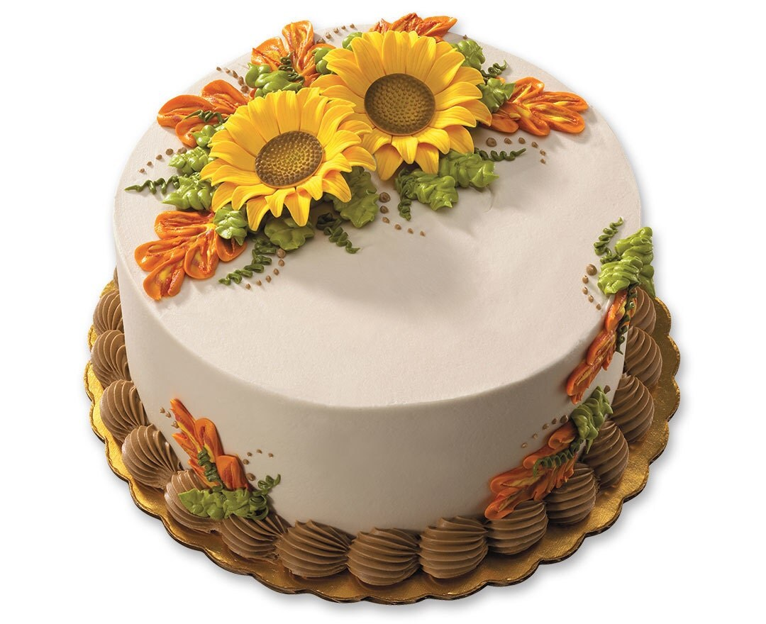 Sunflower Wedding Cake Topper