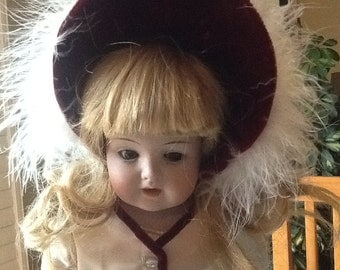 Very pretty Peter  Scherf doll ! On sale was 80.00 now 55.00