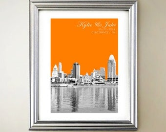 Cincinnati Personalized Cityscape