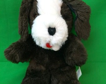 1978 Gund Puppy Dog Plush Stuffed Animal Vintage 10""