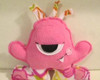 Stuffed Monster, SASSY SALLY Monster Friend, 10-1/2 inches