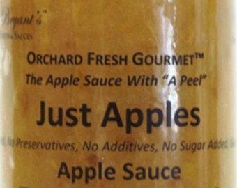 Applesauce - Vegan Gluten Free All Natural Orchard Fresh Handmade in Small Batches No Sugar Added