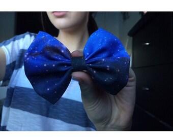 Blue Galaxy Bow