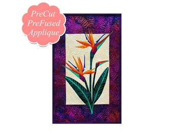 Bird of Paradise Applique Quilt Kit PRE-CUT