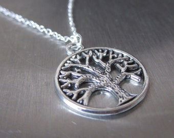 SALE - silver Tree of Life necklace, Trending Jewelry, trending now, silver necklace, UK Seller, jewellery UK