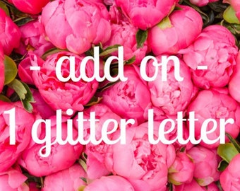 One Extra Glitter Letter