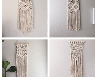 Macrame Kit/Macrame Wall Hanging Kit/DIY Gift/KIT for Macrame Wall Hanging/Modern Macrame/Macrame DIY/Macrame Patterns