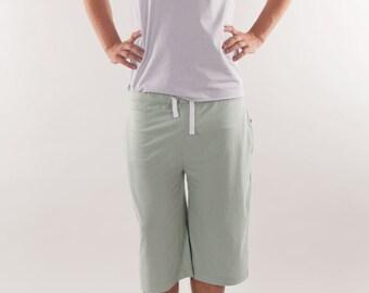 Organic Cotton Men's Pyjama Shorts, Nightwear, Loungewear, Sleepwear, Men's Pajamas Shorts, Yoga, Men's Yoga, Men's Organic Cotton Shorts