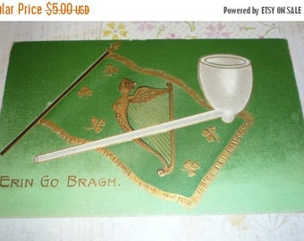 on sale Erin Go Bragh St. Patrick's Day Antique Postcard